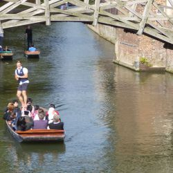 Punting, Cambridge Tennis Camp